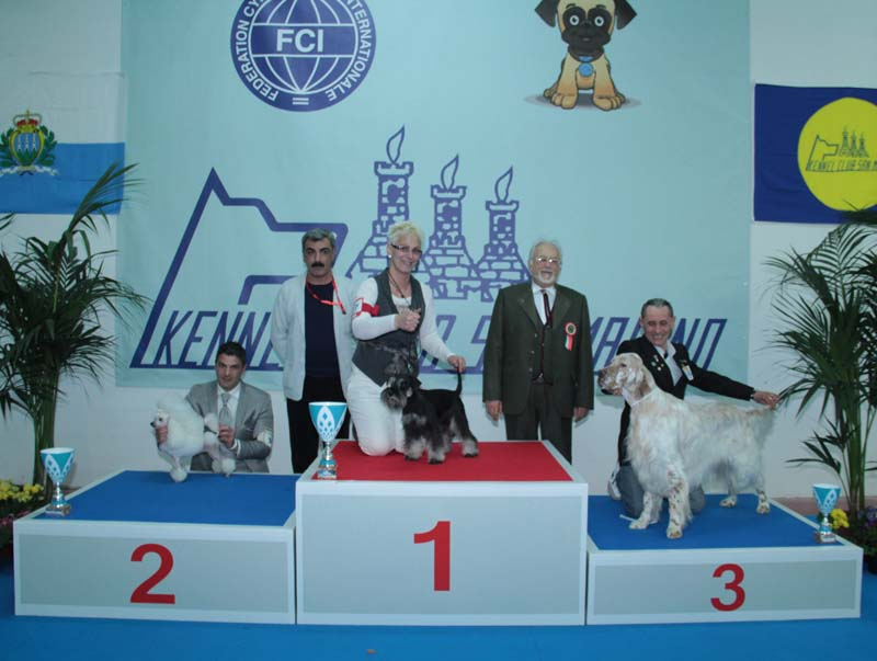 ALBAROSSI'K DREAM CATCHER: Best in Show – Campione giovane di Georgia